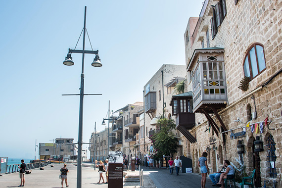Jaffa Turkish clock tower   Photo: Dana Friedlander