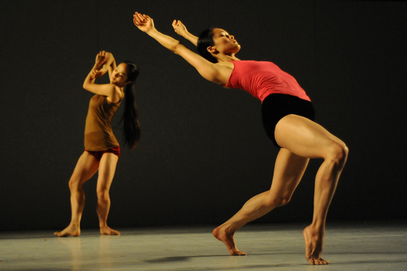 Performance at the Suzanne Dellal Center for Dance & Theater, Neve Tzedek    Photo: Gadi Dagon