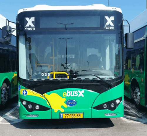 Buses in Israel